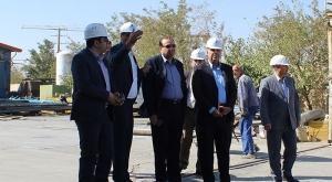 بازدید مدیرعامل عمران اطلس ایرانیان از کارخانه سبلان سوله کاران