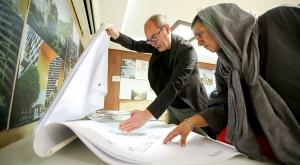 مسابقه طراحی برج های اطلس نمک آبرود