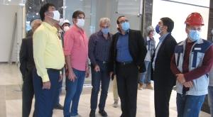 بازدید مدیرعامل شرکت عمران اطلس ایرانیان از پروژه اطلس کلینیک کرمان