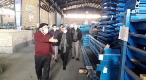 بازدید  از کارخانه شرکت گسترش تجهیزات دانا