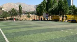 برگزاری مسابقات فوتبال