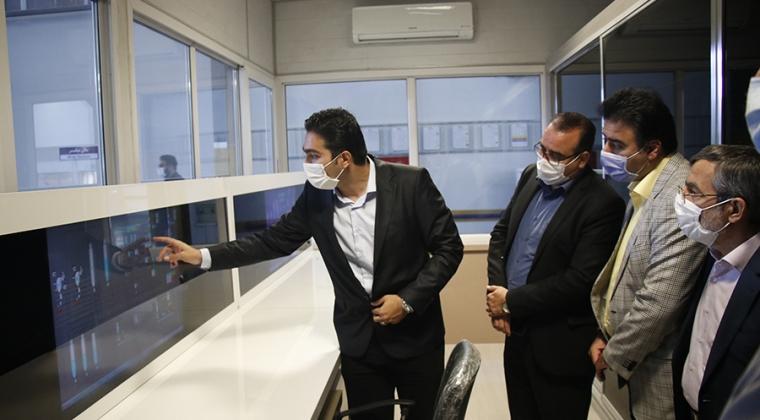 بازدید مدیر عامل و معاونین شرکت عمران اطلس از شرکت وین تک