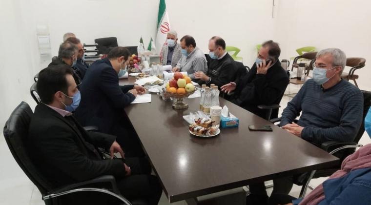 بازدید معاونین گروه شرکتهای ایرانیان اطلس از پروژه اطلس سنتر بم